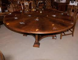 round reclaimed wood dining table boundless table ideas