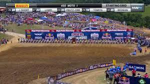 ama motocross game ama motocross high point 2017 450 class moto 1 video dailymotion