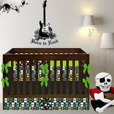 Rock N Roll Crib Bedding Rock And Roll Nursery Ethan Pinterest Nursery Babies And