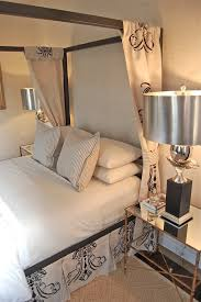 Contemporary Canopy Bed Modern Canopy Bed Bedroom Contemporary With Rope Rug Curtains And