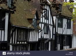 tudor houses rye kent england stock photo royalty free image