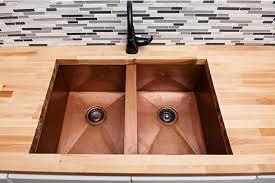Copper Undermount Kitchen Sinks Hand Hammered Sinks Custom - Cooper kitchen sink