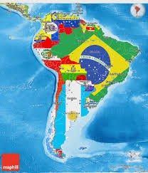 south america map south america clipart physical map pencil and in color south