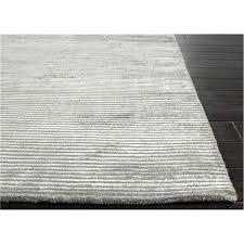 light grey area rug jaipur basis solid wool and silk handloom