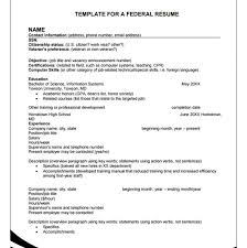 Federal Resume Format Template 10 Federal Resume Templates Free Sles Pdf