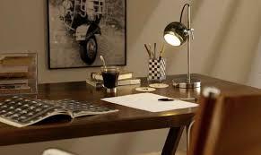 eclairage de bureau travailler chez soi faites le point sur l éclairage achatdesign