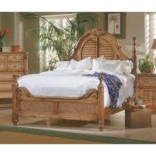 Progressive Willow Bedroom Set Progressive Furniture Palm Court 4 Pc King Low Poster Bedroom Set