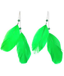 feather earrings online india buy feather earrings online india earrings jewelry
