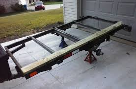 rebuilt the atv trailer in preparation for hunting season