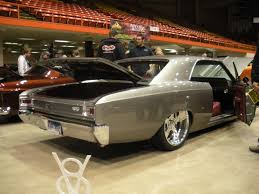 1966 chevelle ss 2 madwhips grey silver red interior