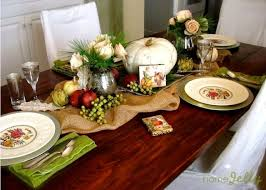 make table decorations for a rustic thanksgiving homejelly