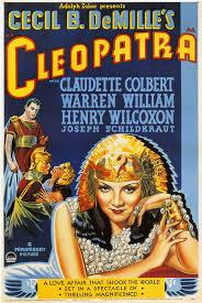 film love cecil 1934 cecil b demille s cleopatra starring claudette colbert