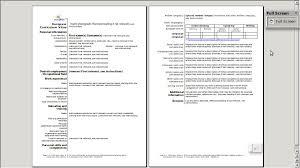 Openoffice Resume Template Cv English Hitecauto Us
