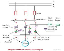 induction motor protection system circuit diagram u0026 working