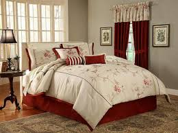 Patchwork Comforter Fascinating Queen Comforter Sets With Matching Curtains 7 Pieces