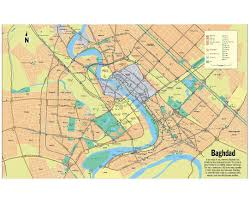 Map Of Central Asia Maps Of Baghdad Detailed Map Of Baghdad In English Tourist Map