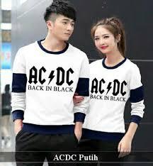 Baju Ac Dc baju acdc putih harga 105rb reseller 85rb bahan spandek