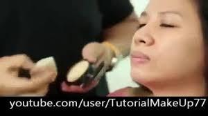 cara memakai make up natural untuk wajah bulat