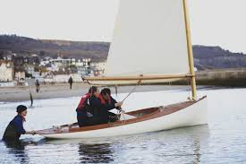 boat building academy students build a small south bay catboat