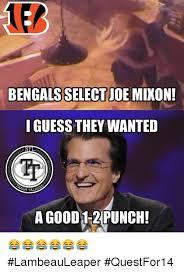 Bengals Memes - bengals select joe mixon iguess they wanted nfl h talks a good 1