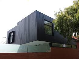 single family house australia elzinc rainbow black