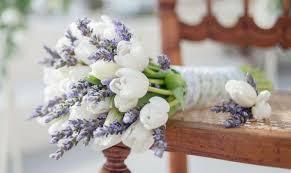 wedding flowers tulips santorini weddings inspiration pastel bridal bouquets tie the