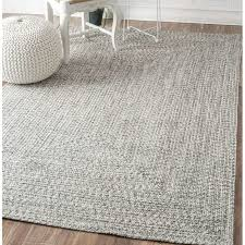 decor grey area rug with unique ottoman table also wainscoting
