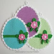 Tiny Flower Crochet Pattern - 15 easter egg crochet patterns