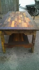 Diy Reclaimed Wood Side Table by Diy Large Pallet Coffee Table Pallet Furniture Diy Upcycle