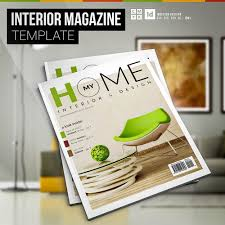 my home interior magazine template digital template creative