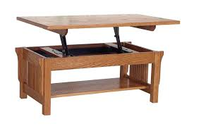 small lift top cocktail table hidden storage lift top coffee table with oak material for small