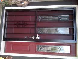 red security screen door i17 all about coolest home design style