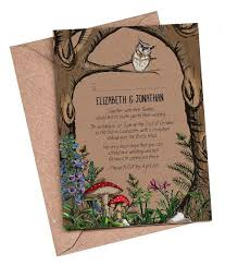 woodland wedding invitations reduxsquad