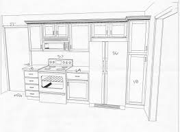 Kitchen Floor Plans With Island Best One Wall Kitchen Floor Plans Minimalist Home Office Or Other