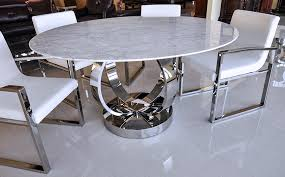 contemporary decoration marble round dining table awe inspiring
