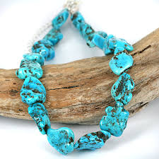 real turquoise stone necklace images Contemporary jewelry skj ancient bead art jpg