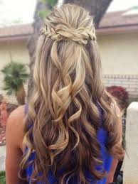 prom hairstyles half up half down women medium haircut