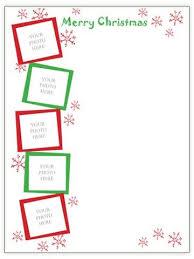 free christmas newsletter templates online best template idea