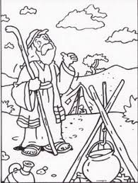 abraham and isaac coloring page bible coloring pages abraham religion abrahamic religions