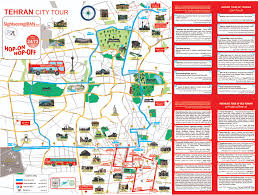 Tehran Map The Tour U2013 Sightseeing Iran