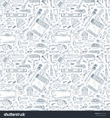 house repair tools vector seamless pattern stock vector 424817227