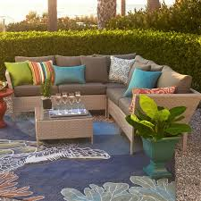 Newport Wicker Patio Furniture Newport 12 Pc Resin Wicker Set With Table Outdoor Brylanehome