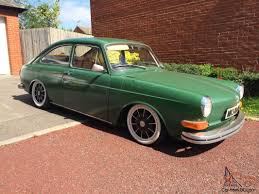 volkswagen old convertible fastback type 3 1971 slammed not vw beetle squareback classic px