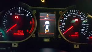 audi a6 06 instrument cluster component protection reset