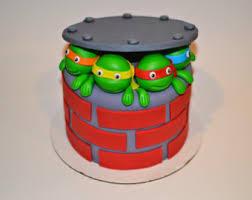 tmnt cake topper tmnt cake topper etsy