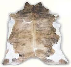 light brindle natural hide rug natural hide rugs free shipping