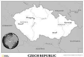 Map Of Czech Republic Czech Republic Unitarian Universalist Partner Church Council