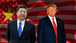 trump and xi begin talks after lavish welcome in china 2017 11