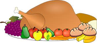 thanksgiving spread clip at clker vector clip