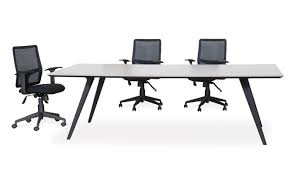 White Meeting Table Dart Krost Business Furniture